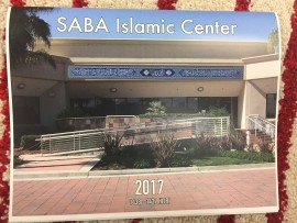 SABA Islamic Center Calendar